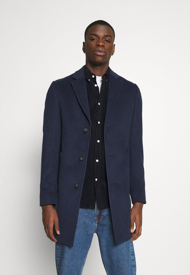 NOTCH - Classic coat - dark blue