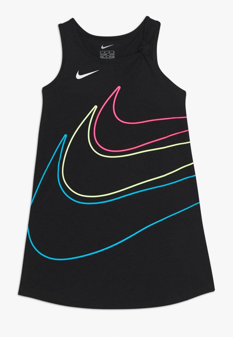 Nike Sportswear - GIRLS KNOT TANK DRESS - Vestito di maglina - black