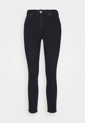 SCARLETT HIGH ZIP - Jeans Skinny Fit - dark icon