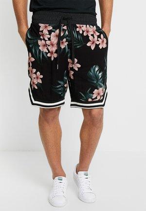 FLOWERS - Shorts - black