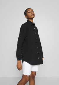 Missguided - WASHED - Chemisier - black - 0