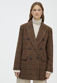 PULL&BEAR - Manteau court - brown - 0