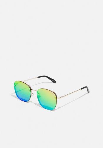 JEZABELL - Occhiali da sole - gold-coloured/rainbow