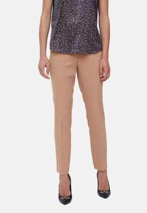 BISTRETCH - Trousers - beige