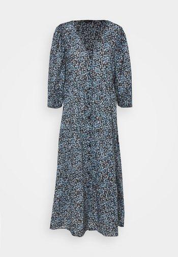 KAIA BUTTON THROUGH DRESS