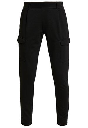 DENA SOLID - Pantalones deportivos - black