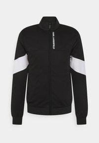 ZIP JACKET - Zip-up sweatshirt - black