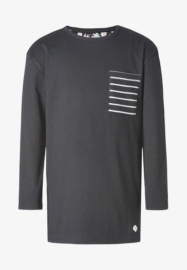 LANGARMSHIRT  - T-shirt à manches longues - black