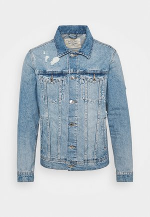 JJIJEAN JACKET - Kurtka jeansowa - blue denim