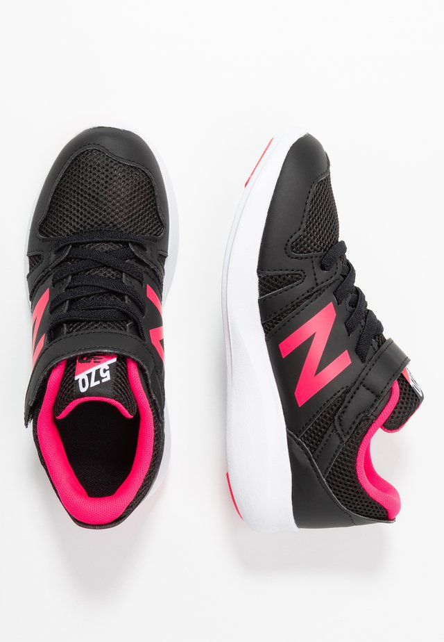 YT570GB - Zapatillas de running neutras - black/pink