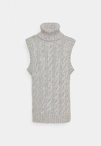 YAS - YASCANNA - Print T-shirt - light grey melange - 5