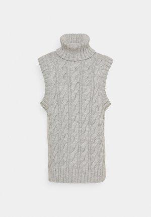 YASCANNA - Strikkegenser - light grey melange