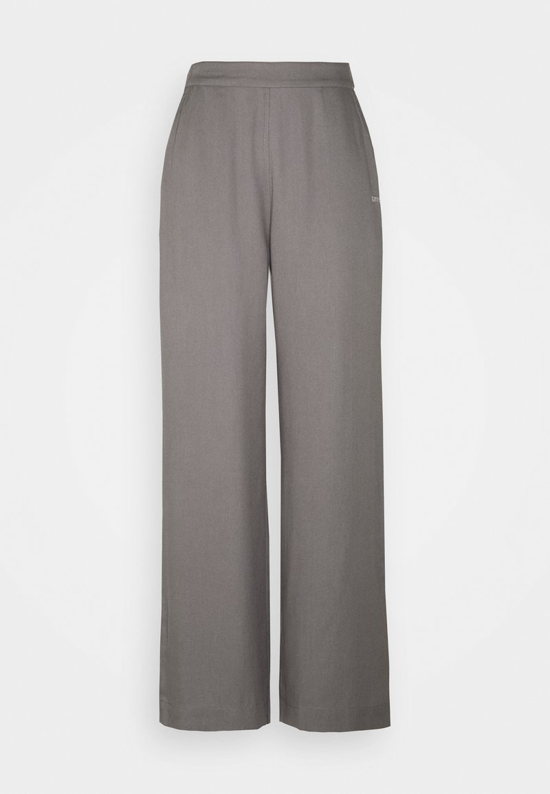 esmé studios - MYLA WIDE LOOSE PANTS - Trousers - grey