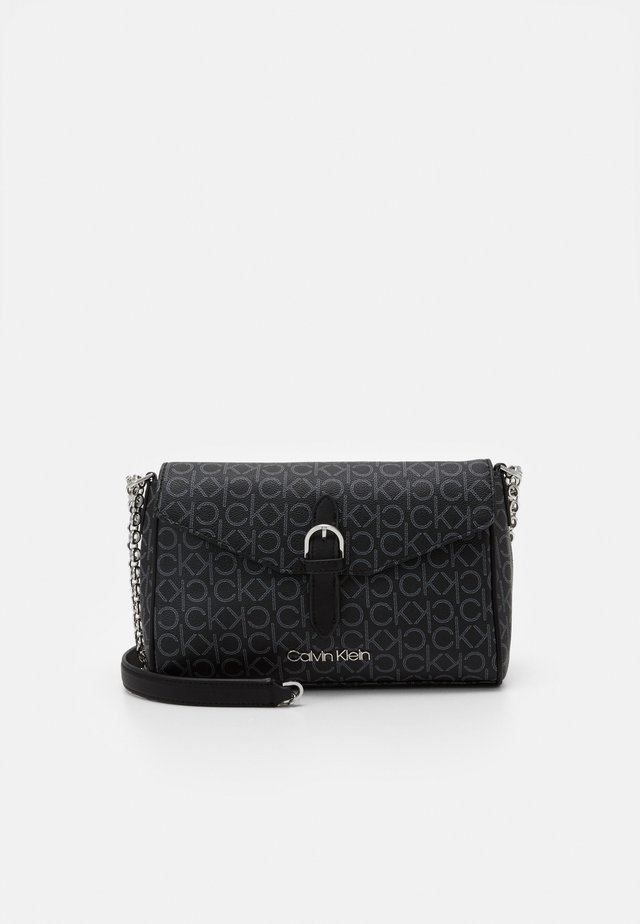 FLAP CROSSBODY - Sac bandoulière - black