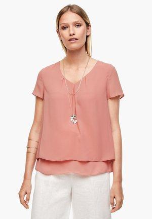 MIT LAYERING - Blouse - soft pink