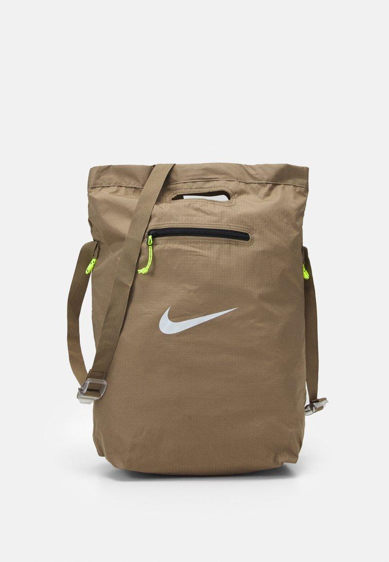 Nike Sportswear - UNISEX - Tote bag - sandalwood/sandalwood/white