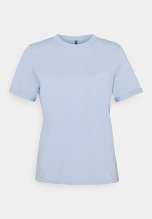 PCRIA FOLD UP SOLID TEE - Basic T-shirt - kentucky blue