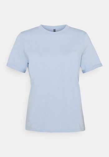 PCRIA FOLD UP SOLID TEE - Camiseta básica - kentucky blue