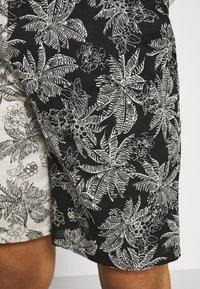 Sixth June - TROPICAL - Shorts - black/white - 5