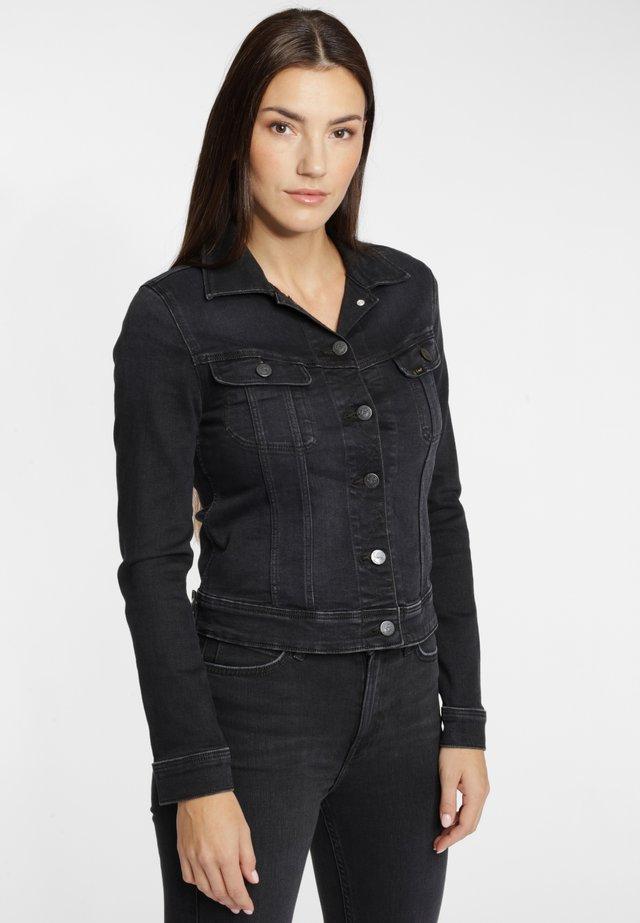 Denim jacket - heather blue