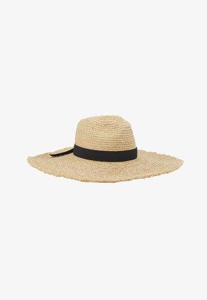 SHADYLADYRAFFIA PANAMA HAT - Klobouk - natural