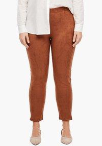 Triangle - Leggings - Trousers - cognac - 5
