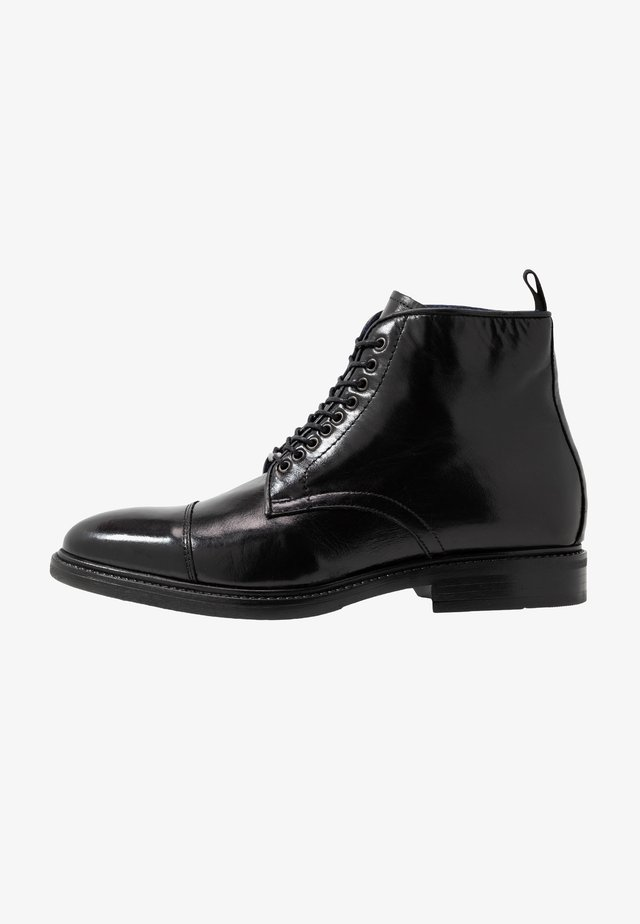 VIGNE - Lace-up ankle boots - noir
