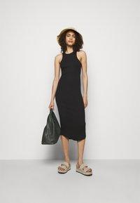 rag & bone - THE ESSENTIAL TANK DRESS - Maxi dress - black - 1