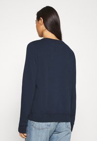 Hollister Co. - CHAIN CROPPED ICON  - Sweatshirt - navy - 2
