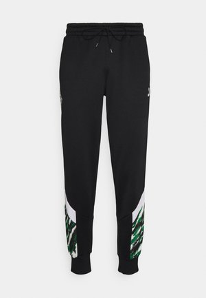 BORUSSIA MÖNCHENGLADBACH ICONIC GRAPHIC TRACK PANTS - Klubbkläder - black/white/amazon green
