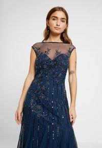 Lace & Beads Petite - MALIA MAXI - Společenské šaty - blue - 4