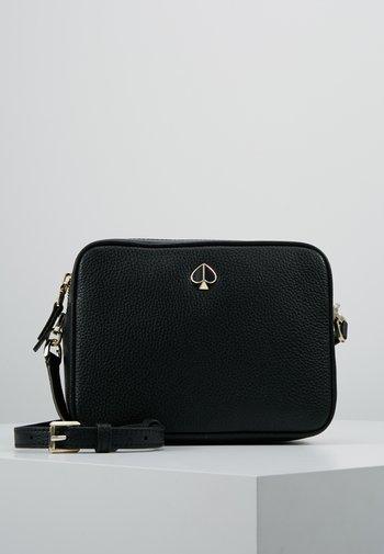 MEDIUM CAMERA BAG - Across body bag - black