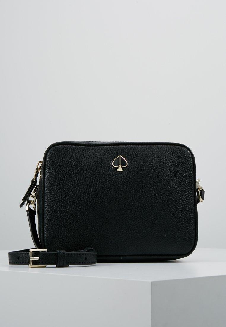 kate spade new york - MEDIUM CAMERA BAG - Across body bag - black