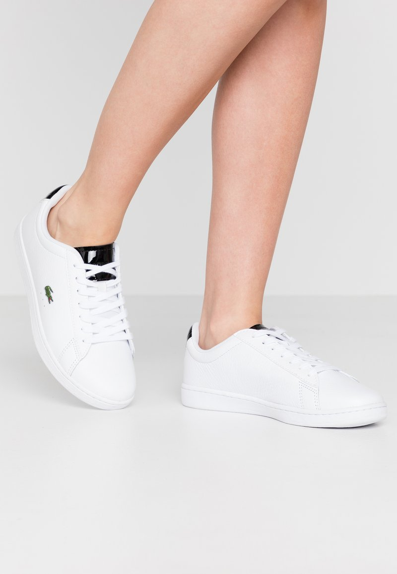 Lacoste - CARNABY EVO  - Trainers - white/black