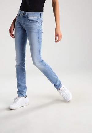LYNN MID SKINNY - Jeans Skinny - lt aged