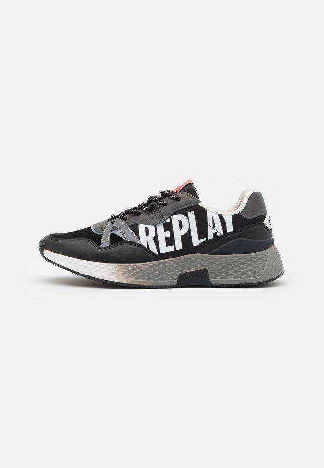 SPORT LOUD - Sneakersy niskie - black/white/red