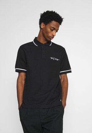 SIGNATURE CASUAL - Polo shirt - black