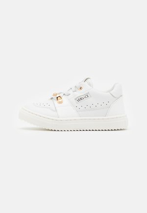 UNISEX - Sneakers laag - white/gold