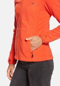 Jeff Green - ANNE - Fleece jacket - orange - 4