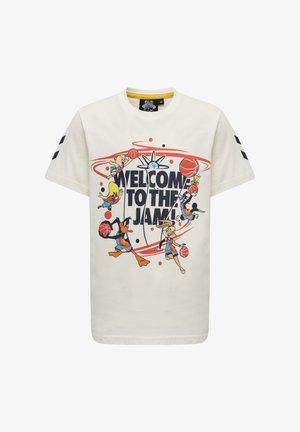HMLSPACE JAM TRES  - Print T-shirt - marshmallow