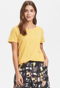 Karen by Simonsen - Basic T-shirt - yellow - 0