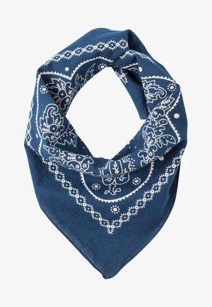 PAISLEY BANDANA - Scarf - navy blue