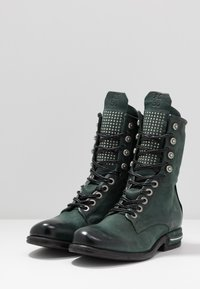 A.S.98 - Lace-up ankle boots - balsamic - 4