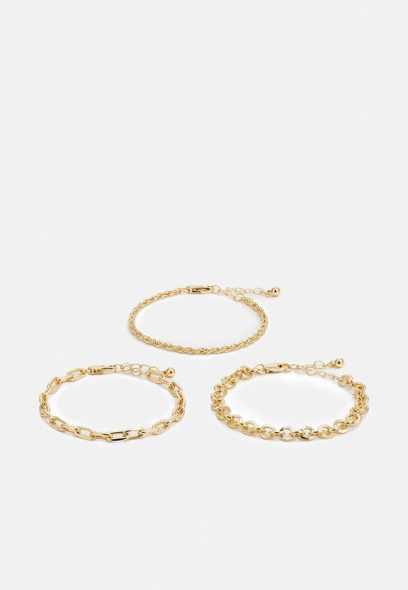 Pieces - PCVILLA 3 PACK BRACELET - Bracelet - gold