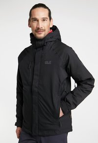 Jack Wolfskin - TROPOSPHERE JACKET - Outdoor jacket - black - 0