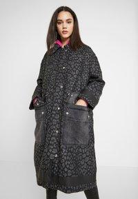 Diesel - G-ROBERT OVERCOAT - Winter coat - black - 0