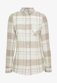 Dorothy Perkins - CLOSED COLLAR - Skjorta - ivory - 5