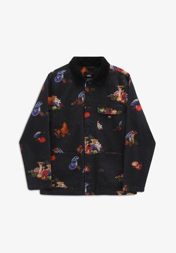 MN DRILL CHORE STILL LIFE - Summer jacket - black/still life