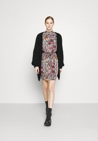 Vero Moda - VMSELMA SHORT HIGH NECK DRESS  - Day dress - wild rose/selma - 1