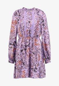 Liu Jo Jeans - ABITO SHORT DRESS - Skjortklänning - purple - 4